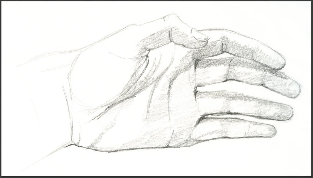 Hand sketch by Amanda Barnaby